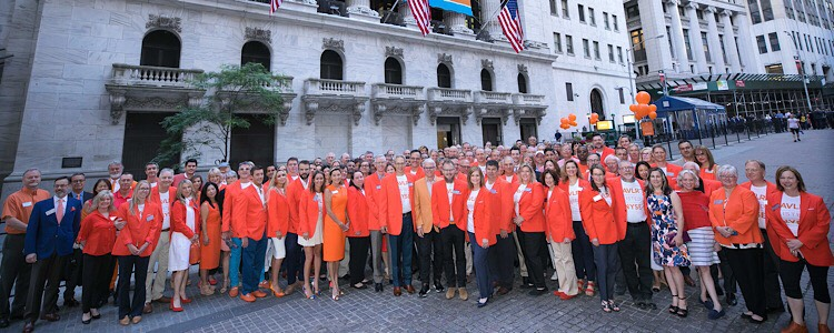 Painting Wall Street Orange