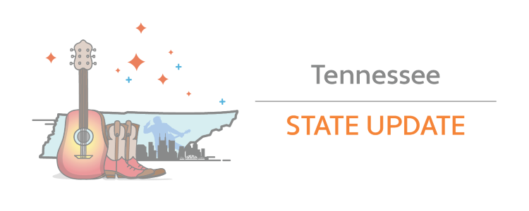 Tennessee lowers economic nexus threshold from $500,000 to $100,000