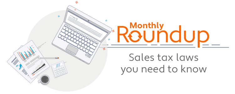 October Roundup: Sales tax laws you need to know