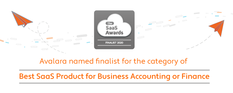 Avalara named a finalist for 2020 SaaS Awards