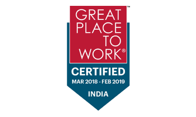 Great Place Work - Certificate