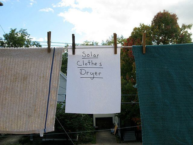 This type of energy saving clothes dryer is always tax exempt.