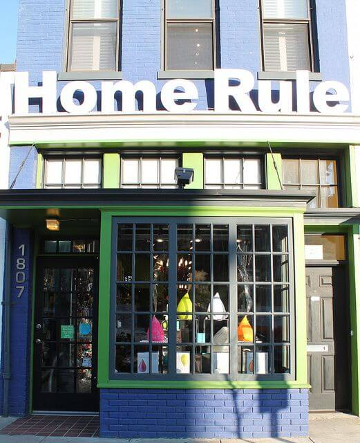 The Home Rule store in D.C. has nothing to do with Colorado, a home rule state.