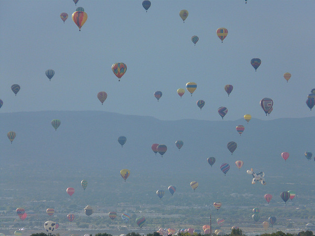Like Albuquerque's ballon fiesta, changing New Mexico's gross receipts tax to a sales tax would be big.
