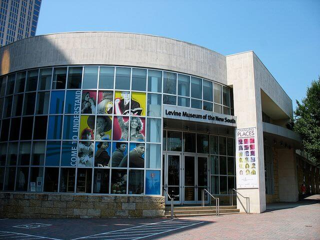 Admissions to the Levine Museum of the New South in Charlotte will be subject to sales tax, effective January 1, 2014.