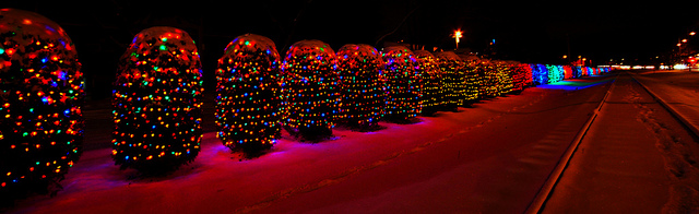 Wisconsin: hanging holiday lights is a taxable service.
