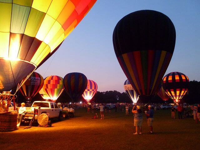 The Alabama Jubilee Hot Air Balloon Festival: an automated sales tax solution allows more time for fun.