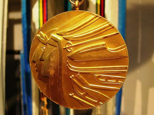 Indiana: Olympic medals won after January 1, 2014, are tax exempt.