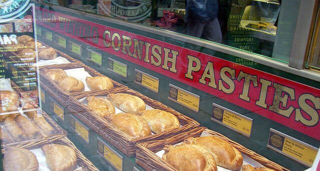 A cooling Cornish pasty is exempt from value added tax in Britain.