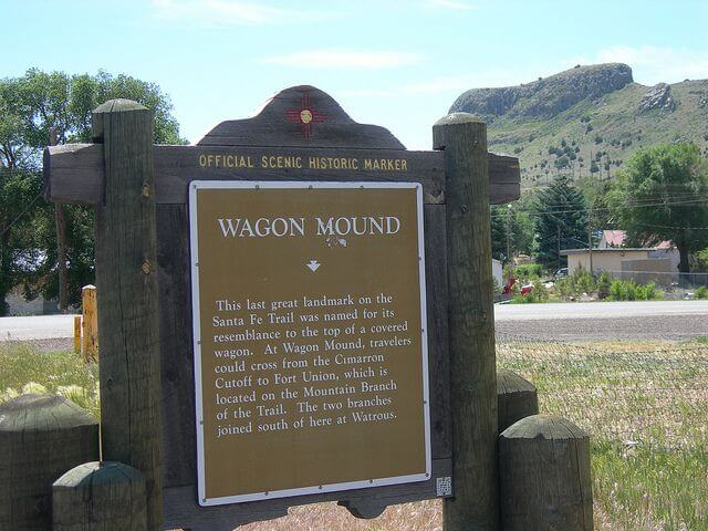 Wagon Mound, New Mexico, gets a new gross receipts tax rate in July.