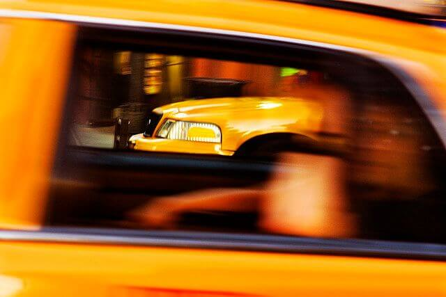 The transportation sales tax does not apply to NYC taxicabs.