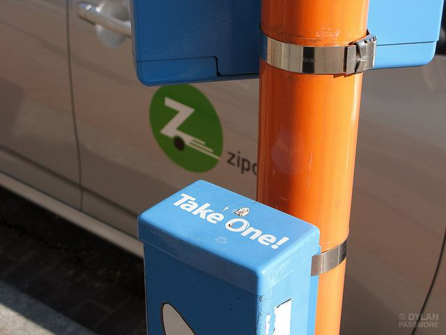 Florida to reduce fees for car-share programs.