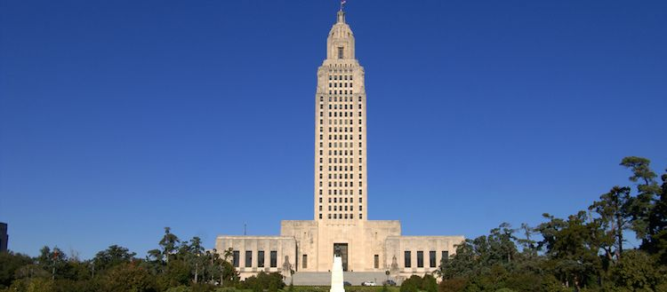 Louisiana sales tax rate changes, January 2019