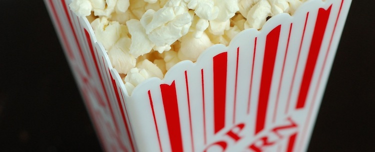 Movie popcorn is subject to sales tax in West Virginia.