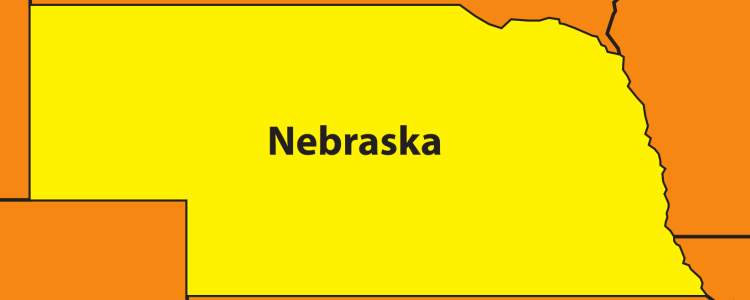 Nebraska sales tax rate changes, July 2019
