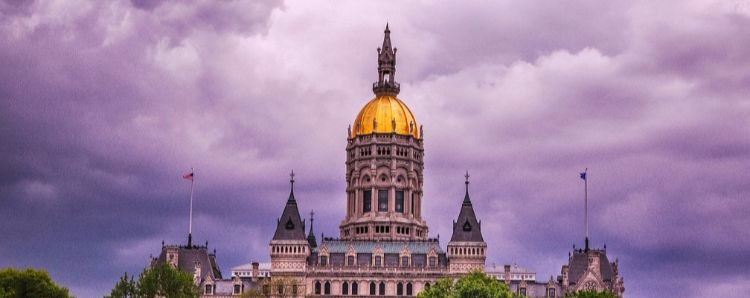 What will happen to sales tax in Connecticut once lawmakers agree on a budget?