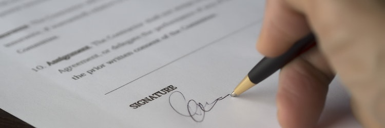 agreement-signature