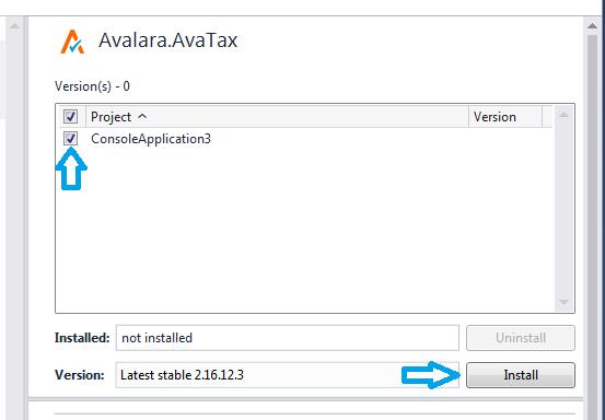 AvaTax NET client library available on NuGet - Avalara